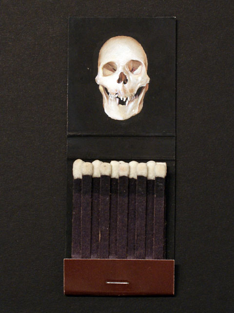Skull Matchbook